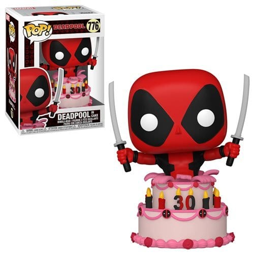 Figura Deadpool Funko POP Marvel 30th Anniversary Deadpool en Pastel (Pre-Venta Llegada Aproximada Mayo)