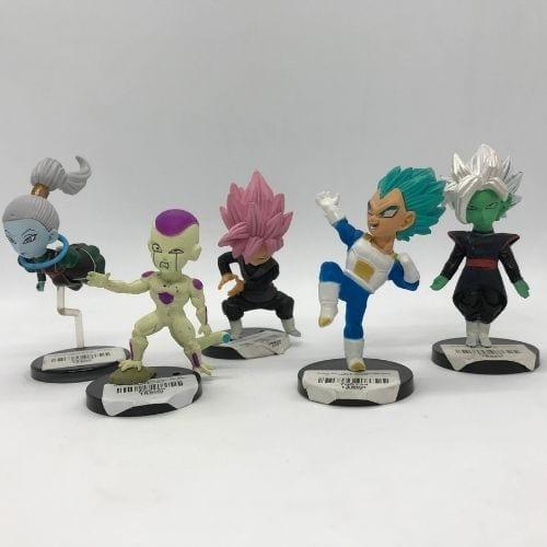 """Figura Personajes Varios PT Dragon Ball Anime Base Negra 4"""" (Copia)"""