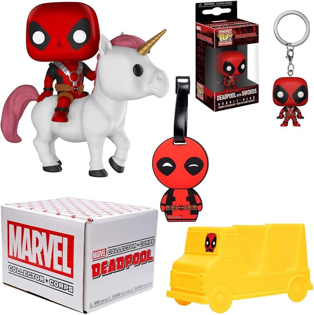 Funko Marvel Collector Corps Caja de suscripción Deadpool