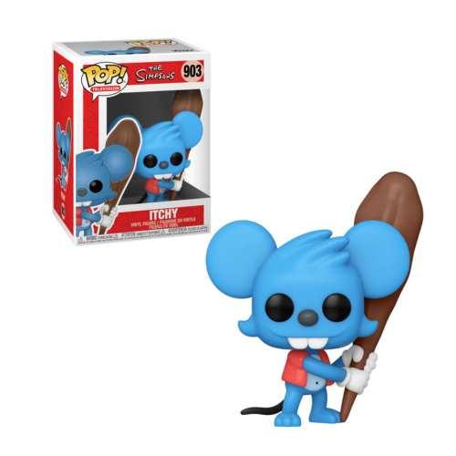 Figura Itchy Funko POP The Simpsons Animados raton daly