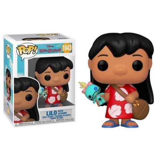 Figura Lilo With Scrump Funko POP Lilo & Stitch Animados