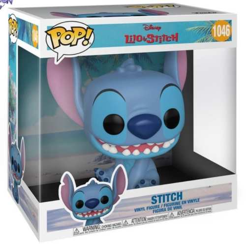 "Figura Stitch Funko POP Lilo & Stitch Animados 10"""