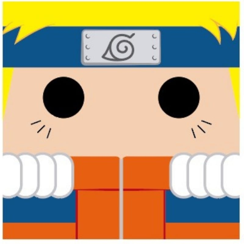 Cojin Naruto ParaFanaticos Naruto Shipudden Anime 30X30 cms