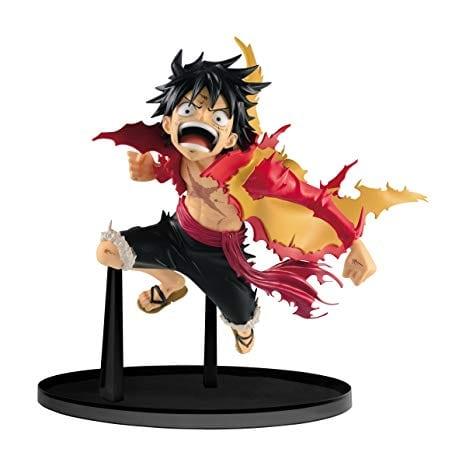 """Figura Luffy PT One Piece Anime Saltando en caja 7"""""""