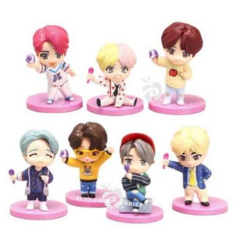 Set Figuras BTS PT Iconos X7 Pack 3