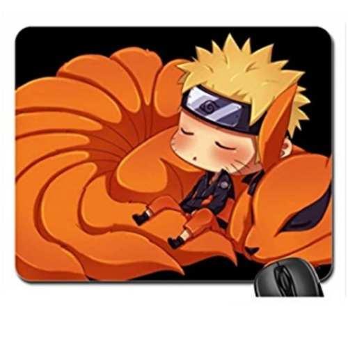 Pad mouse Naruto &Kurama PT Naruto Shipudden Anime Alfombrilla de ratón 22x18