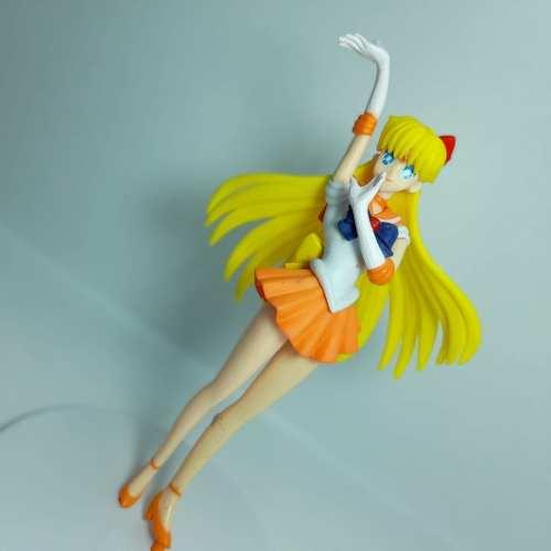 Figura Sailor Venus PT Anime 7'' Base Blanca en Bolsa