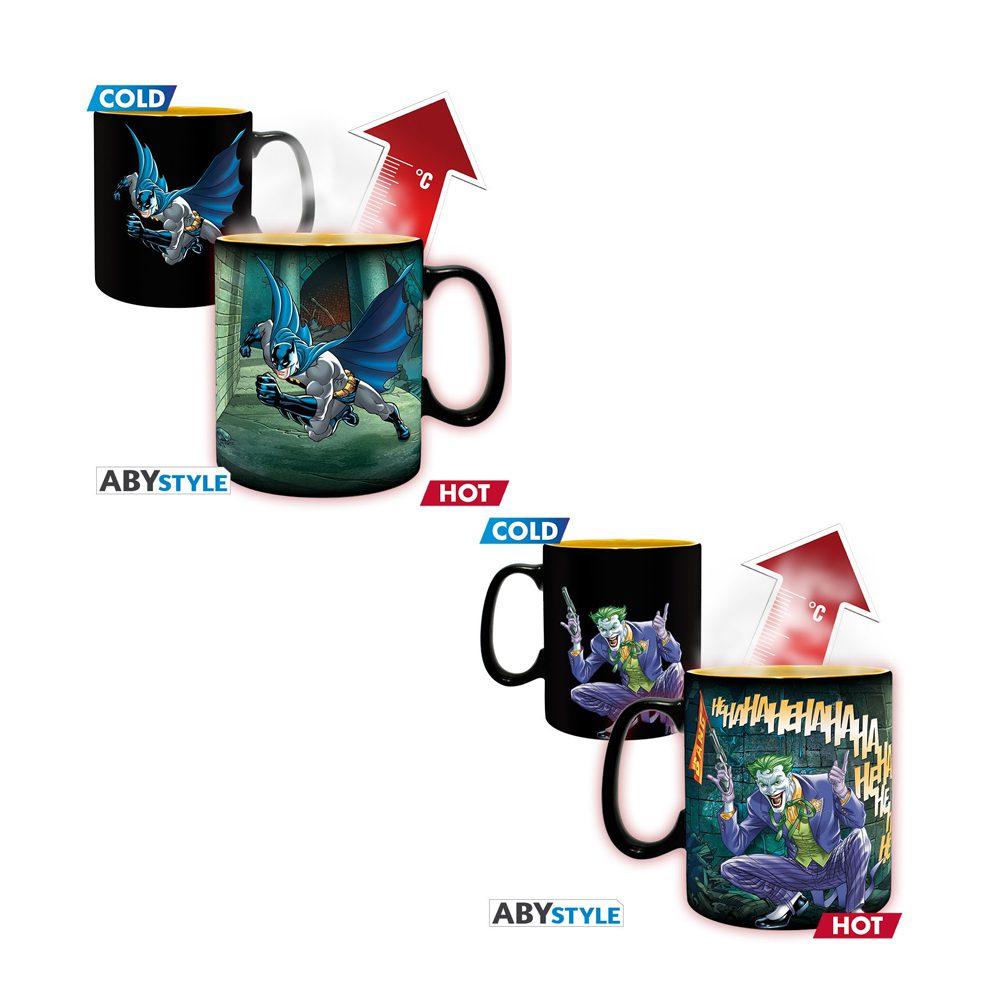 Mug Magico Batman y Joker AbyStyle Batman DC Comics