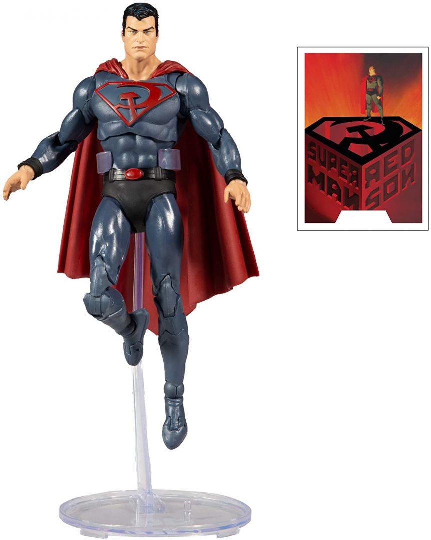 Figura de acción McFarlane Toys del Multiverso DC Superman: Red Son