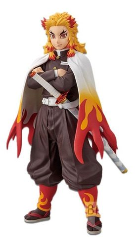 Figura Rengoku Kyojuro Banpresto Kimetsu No Yaiba Anime (copia)