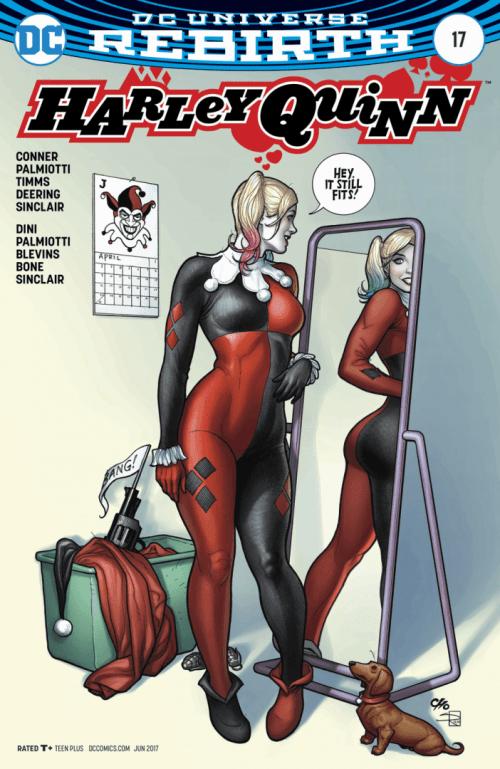Revistilla Harley Quinn # 17 Rebirth DC Comics