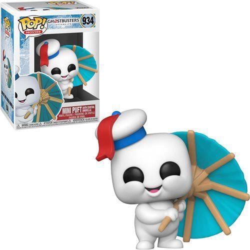 Figura Mini Puft with Cocktail Umbrella Funko Pop Ghostbusters: Afterlife Terror (Pre-Venta Llegada Aproximada Febrero - Marzo 2022)