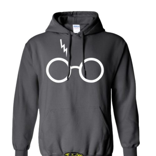 Hoodie Gafas Harry Potter Jaimito Harry Potter Fantasia Talla S