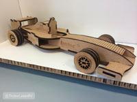 лазерная резка применяется для изготовления деталей для сборных моделей, конструкций, макетов