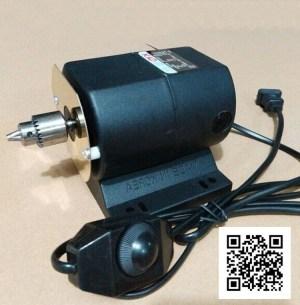 Электродвигатель сверлильного станка по янтарным шарам Вариант -2
