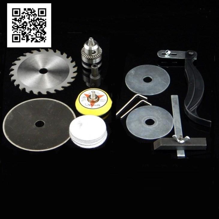 Комплектация настольной циркулярной пилы Royce TJ-350