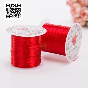 Эластичная-нить-для-янтарных-изделий-красный-цвет