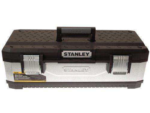 Stanley 195620 Galvanised Metal Toolbox 26-inch