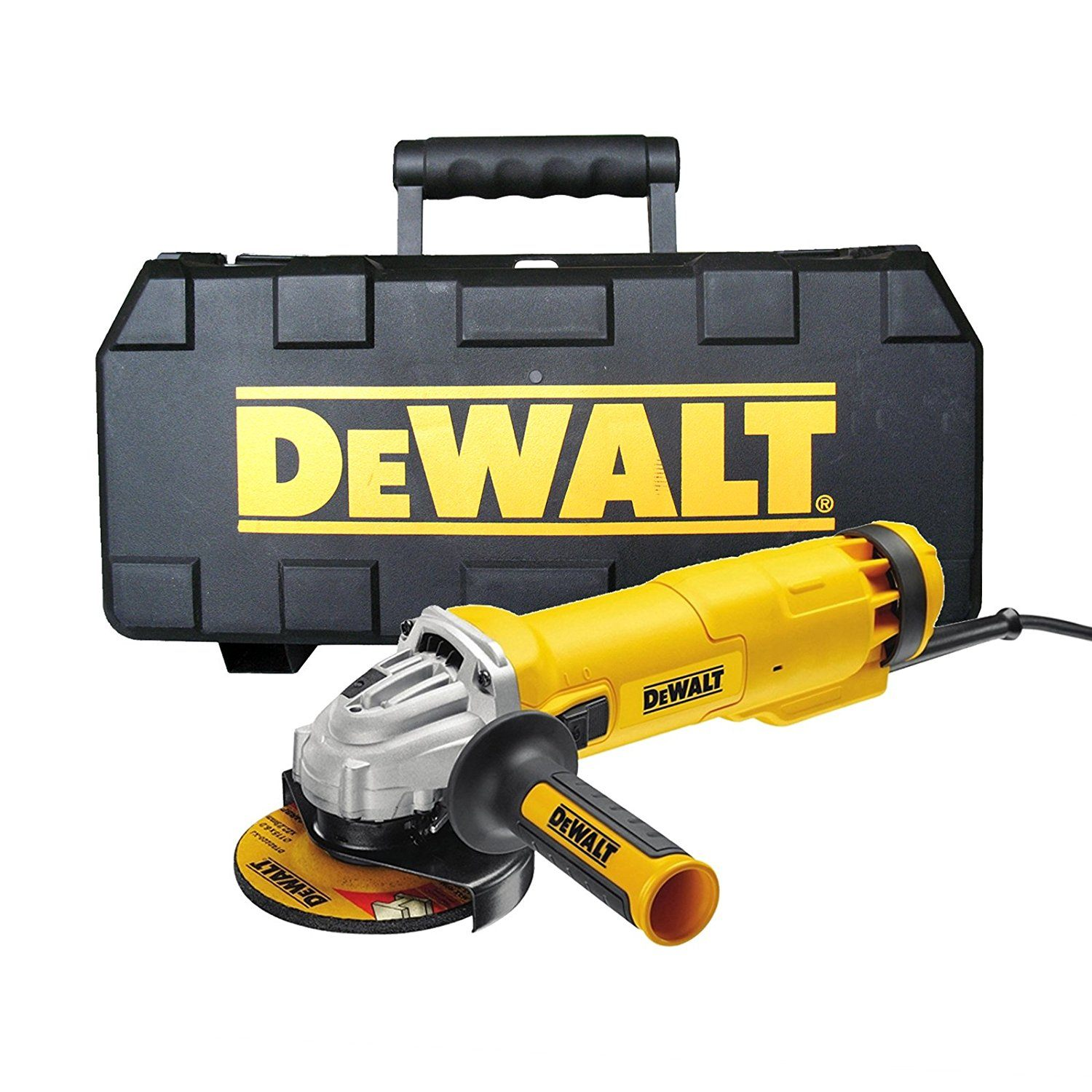 picture of the dewalt mini angle grinder