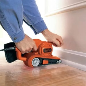 sanding a hard wood floor