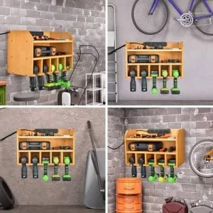 storage charging stations for garage
