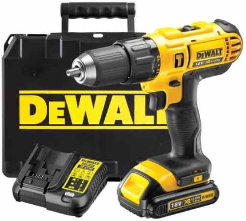 Picture of a dewalt cordless drill
