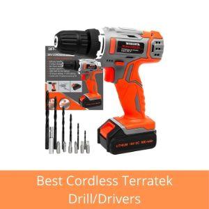 terratek cordless drill uk reviews