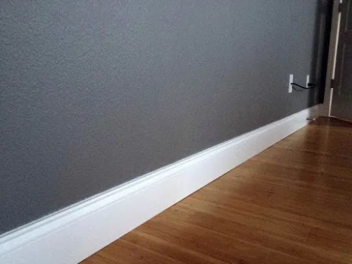 Picture of saton paint finish