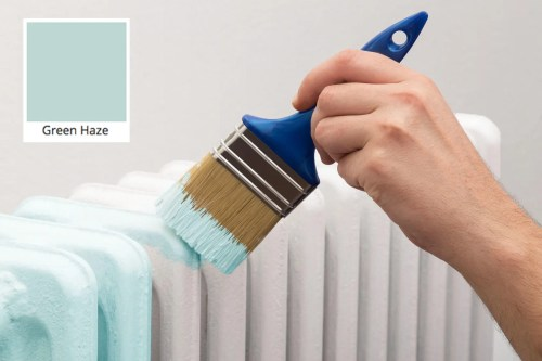 How to brush paint a radiator