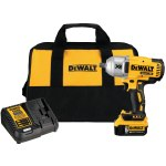 DEWALT DCF899P1 20V MAX XR® Brushless Cordless High-Torque Impact Wrench Kit with Detent Pin Anvil, 1/2 in, 2400 ipm
