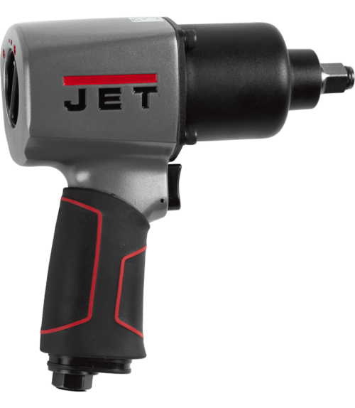 JET 505104 Pneumatic Impact Wrench with Hog Ring Anvil, 1/2 in, 6 cfm, 1300 bpm