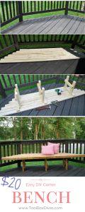 $20 Corner Bench