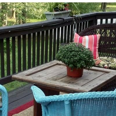 Time to Put My Feet up: Backyard Renovation