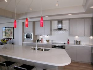 kitchen lighting by Nancy Hugo, CKD