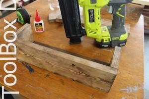 4. DIY Wooden Centerpiece - ToolBox Divas