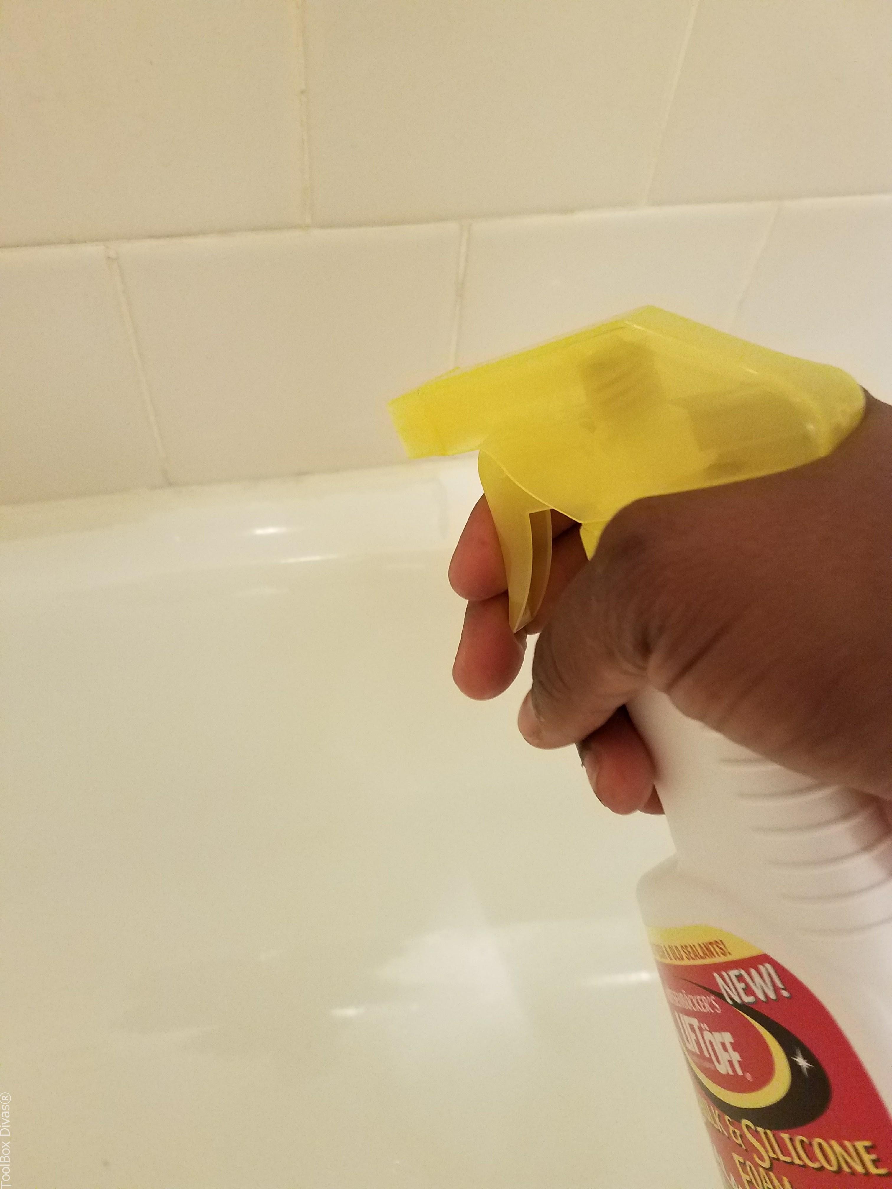 Clean Mold In Shower Caulking