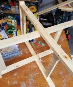 DIY Canvas Folding Stools anyone can make