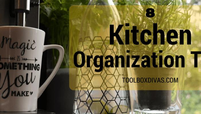 8 Kitchen Organization Tips