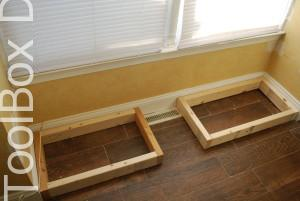 Window Seat - Toolbox Divas