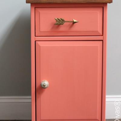 Furniture Makeover: Refinished Nightstand