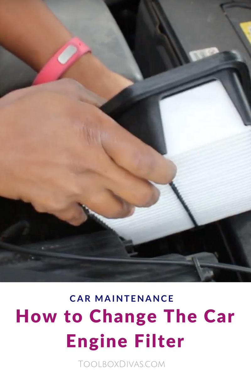 How to Change The Car Engine Filter and save money at your next oil change. car maintenance 