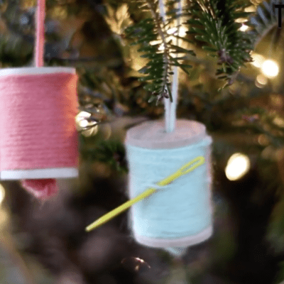 7 Quick and Easy DIY Toddler Proof Christmas Ornaments