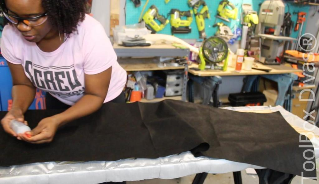 How to diamond tufting - Toolbox Divas21