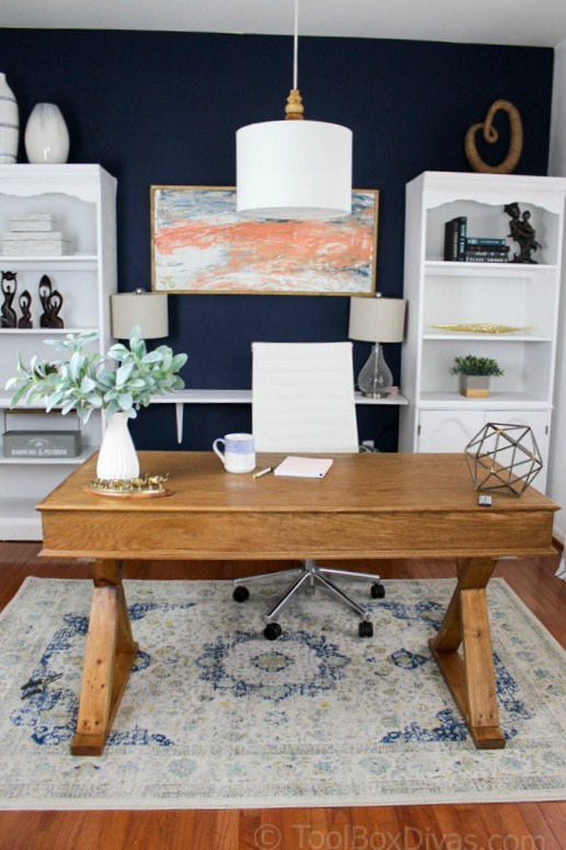 She Learned That She Could Shop Local Thrift Stores And Decorate Her Home  For A Fraction Of What She Thought It Would Cost. Her Office Now Offers  Serenity ...