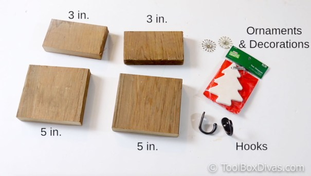 DIY stocking holder by ToolBox Divas