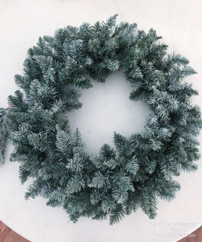 Winter Wreath ideas recycle Christmas into the Winter Decorations @ToolBox Divas diy wreath ideas