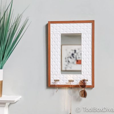 Tiled Hanging Mirror with Jewelry Storage @ToolBoxDivas (29 of 47) Jewelry Storage