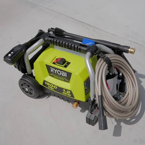 Ryobi 1900 Psi 1 2 Gpm Wheeled Electric Pressure Washer Ry1419mtvm Ry1419mtvnm Honest Review Tool Craze