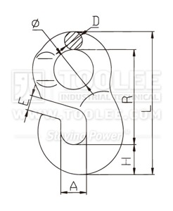 300 1402 OFG Hook drawing