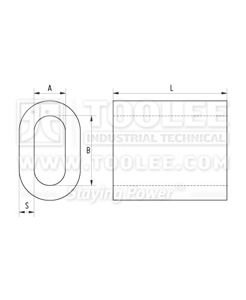 300 2301 Aluminum Sleeve DIN 3093 drawing